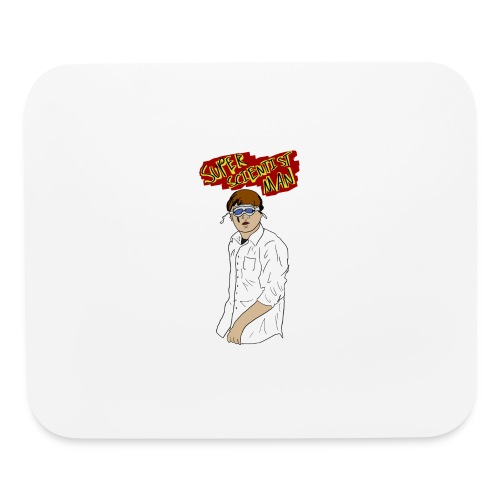 Super Scientist Man - Mouse pad Horizontal