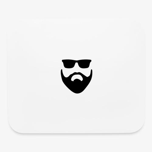 Beard & Glasses - Mouse pad Horizontal