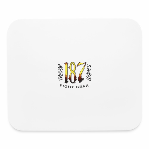 Coloured Trevor Loomes 187 Fight Gear Logo - Mouse pad Horizontal