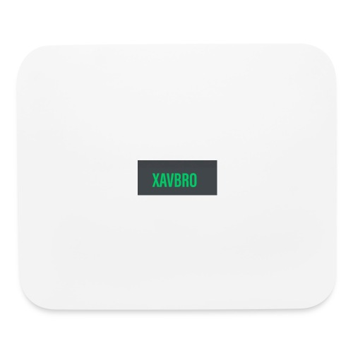 xavbro green logo - Mouse pad Horizontal