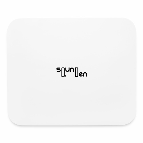 Soundofden Classical Black Logo - Mouse pad Horizontal