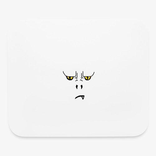 Furious Reptilian from Hell - Mouse pad Horizontal
