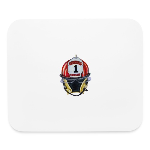 Firefighter - Mouse pad Horizontal