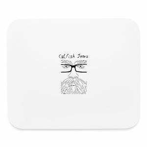 Catfish Jones Face - Mouse pad Horizontal