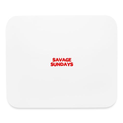 Savage Sundays - Mouse pad Horizontal