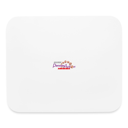 Pennies In Action Logo - Mouse pad Horizontal