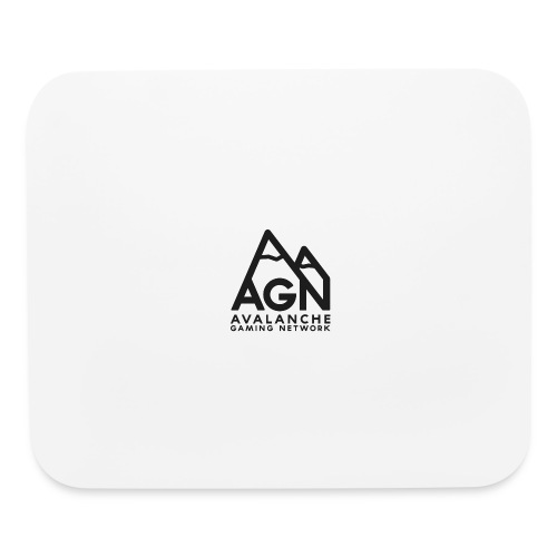 AGN Black Logo Hoodie - Mouse pad Horizontal