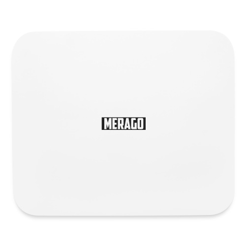 Transparent_Merago_Text - Mouse pad Horizontal